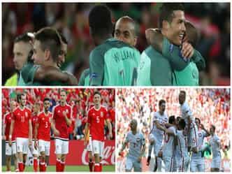 EURO CUP: पुर्तगाल, वेल्स और पोलैंड क्वार्टरफाइनल में