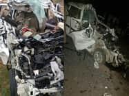 देवी के दर्शन करने जा रहे थे, सड़क हादसे में हुई 5 की मौत