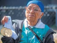 100 साल की मान कौर को तीन स्वर्ण