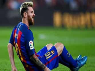 मेस्सी को लगी चोट, बार्सिलोना पर भड़क उठे अर्जेंटीनी कोच 'बाउजा'