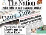 पाकिस्तानी अखबारों ने सर्जिकल स्ट्राइक का उड़ाया मजाक, डालें एक नजर..