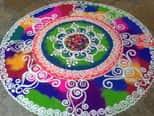 दिवाली पर जरूर ट्राई करें 2016 के ये 10 बेहतरीन रंगोली डिजाइन