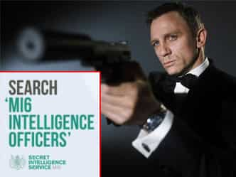 ब्रिटिश खुफिया एजेंसी MI6 को चाहिए'असली जेम्स बांड, निकाला विज्ञापन!