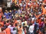 उत्साह और श्रद्धा के साथ अनपरा में निकला महावीरी झण्डा जुलूस