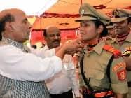 गर्व: पहली BSF महिला अधिकारी तनुश्री, बॉर्डर फिल्म से मिली थी प्रेरणा