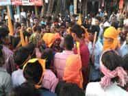 रामगढ़ में समुदाय विशेष के लोगों ने मंगला जुलूस को रोका