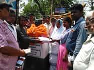 धालभूमगढ़ में पुण्यतिथि पर कांग्रसी नेता माहली को दी श्रद्धांजलि