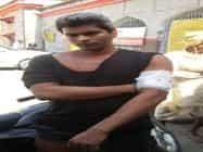 आईएएस के साक्षात्कार से रोकने के लिए दलित युवक पर हमला