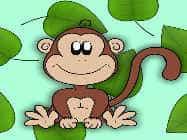 बीच पर बंदरों की मस्ती : अंतर ढूंढ़ो