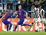 Champions League: जुवेंटस ने बार्सिलोना को 3-0 से हराया
