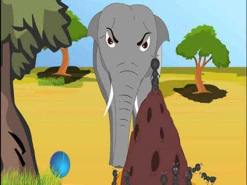 क्या हुआ जब हाथी ने पहली बार चूहा देखा
