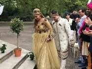 In Pics: नन बन चुकीं सोफिया ने ब्वॉयफ्रेंड से रॉयल अंदाज में की शादी