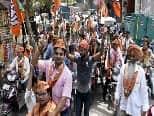 MCDResults: 3 निगमों में BJP को बहुमत, 181 में जीती, आप48, कांग्रेस30