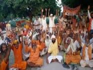 परिक्रमा यात्रा:मिनी कुंभ में तब्दील हुआ अयोध्या,लगे मोदी के जयकारे