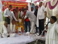 जिले में हर्षोउल्सास के साथ मनायी गयी परशुराम जयंती