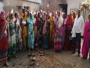 गिद्दी में महिलाओं ने शराब के खिलाफ निकाली रैली, दी चेतावनी