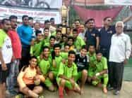 नंददीप मल्ल स्मृति फुटबाल प्रतियोगिता कान्वेंट स्कूल ने जीती