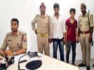 प्रतापगढ़ में नौ गोवंश के साथ दो पशु तस्कर गिरफ्तार
