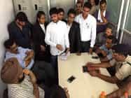 हजारीबाग में लॉ कॉलेज के छात्रों ने किया हंगामा, वीसी से की वार्ता