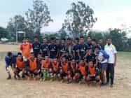 कुसौली की टीम ने जीता मैच