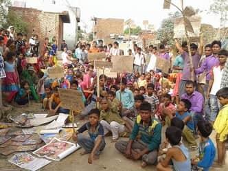 अलीगढ़ में भी दलितों ने दी धर्म परिवर्तन की चेतावनी