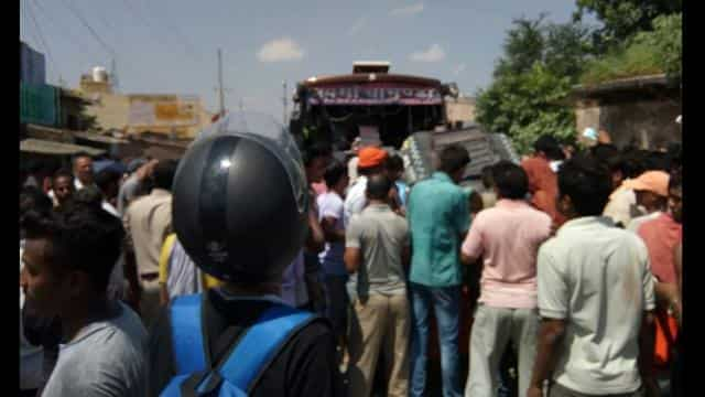 Accident in vaishali