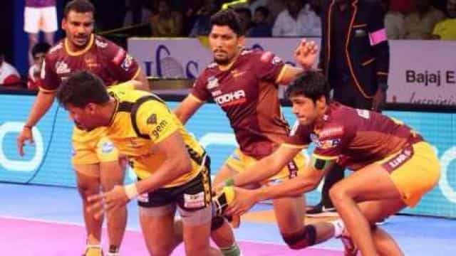 Pro kabaddi league, UP warrior, Telugu titans