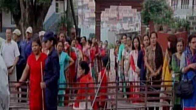 Polling started in Nepal
