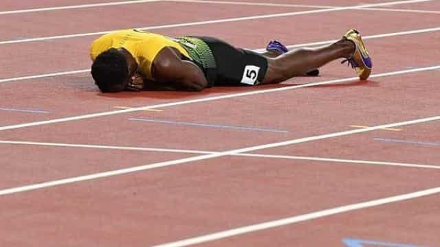 Usain Bolt injured