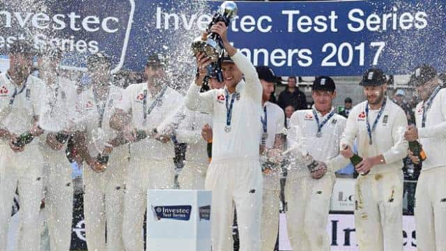 england win test series against west indies