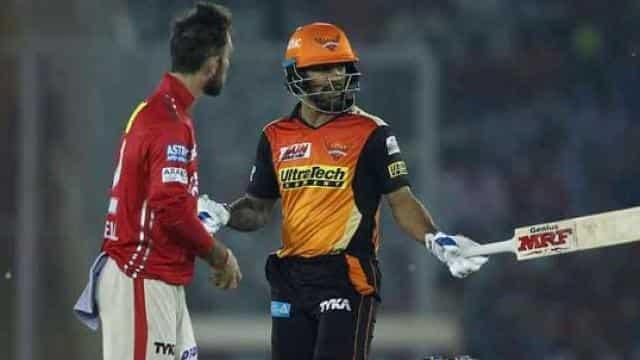 पंजाब के खिलाफ हैदराबाद की जीत