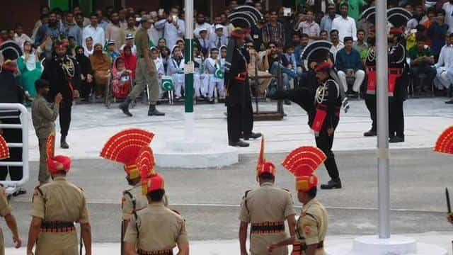 pak ranger at beating retreat