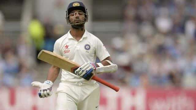 rahane out test