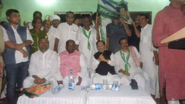 sharad yadav visited at madhepura