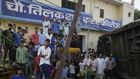 Muzaffarnagar Rail Accident