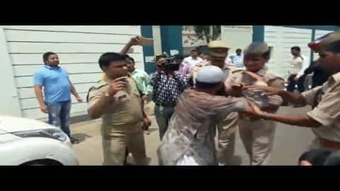 Man attempted suicide at the SSP office Meerut