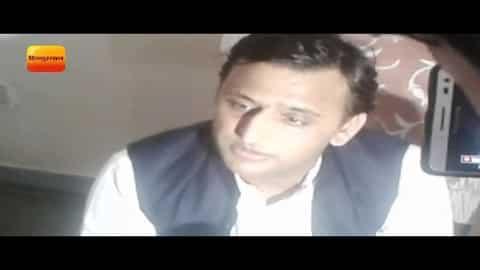 अखिलेश पुलिस हिरासत से रिहा II Akhilesh Yadav is arrested in Unnao