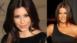 Kim Kardashian and Khloe