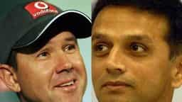 ricky pointing and rahul dravid