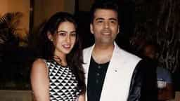 sara ali khan with karan johar