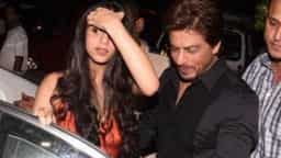 shahrukh khan and suhana khan