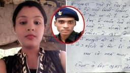 पत्नी की हत्याकर ट्र्रेन से कटा था फौजी