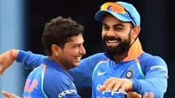virat kohli and kuldeep yadav