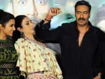trailer launch of the upcoming Hindi film 'Golmaal Again'