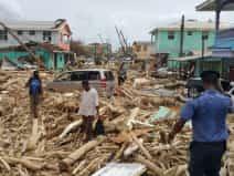 Maria storm hits Dominica