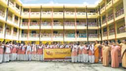 निर्मला कॉलेज: छात्राओं ने सार्थक भागीदारी निभाने की ली शपथ