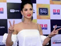Sunny Leone at a event