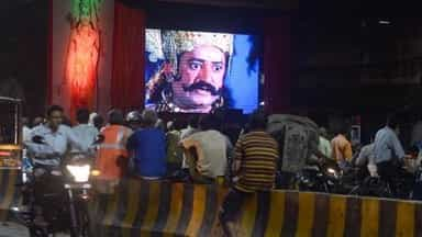 ramayana at roadside in allahbad