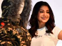 Anushka Sharma attends the launch of her new clothing brand 'NUSH'