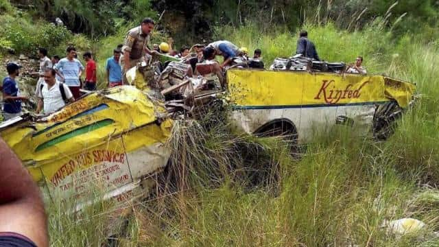 Vaishno Devi pilgrims injured as vehicle falls into gorge